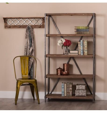 Estantería / Librería metal madera