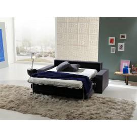 Sofá Cama tapizado en lino