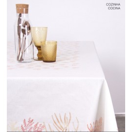 Mantel Coral antimanchas