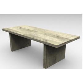 Mesa patas 2 bloques.