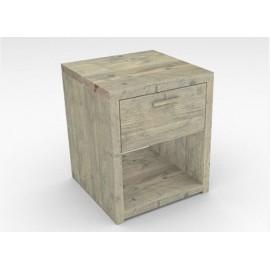 Mesita cubo con un cajón