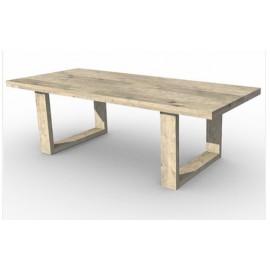 Mesa con patas en U